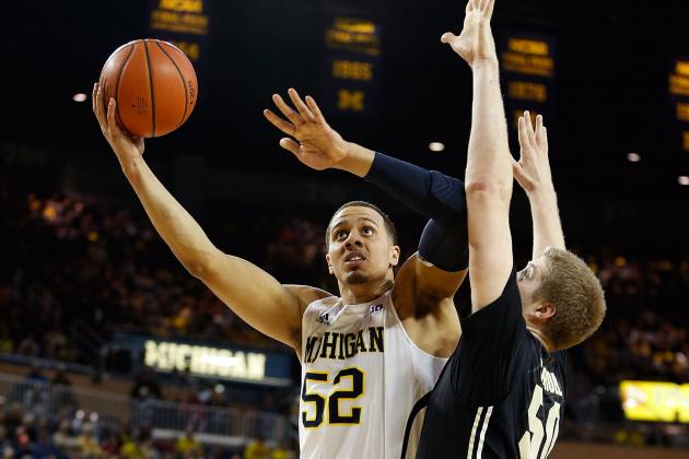 Wolverines' Jordan Morgan Having X-Rays Today