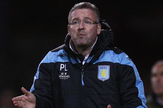 Aston Villa Boss Paul Lambert Doesnt Expect Any Signings
