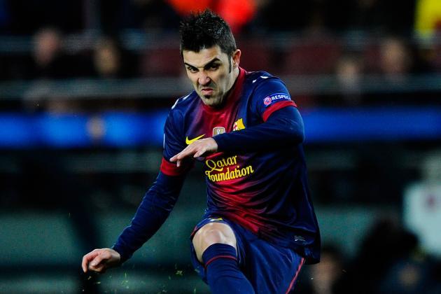 Arsenal Open Formal Talks with Barcelona to Sign David Villa