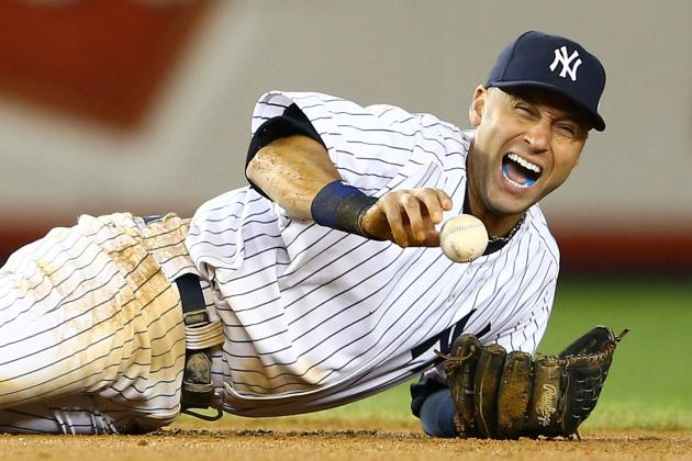 Jeter Resumes Baseball Activitiy for 1st Time Since Surgery