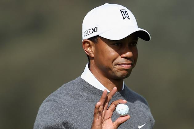 Challengers Face Tall Task in Chasing Down Tiger Woods