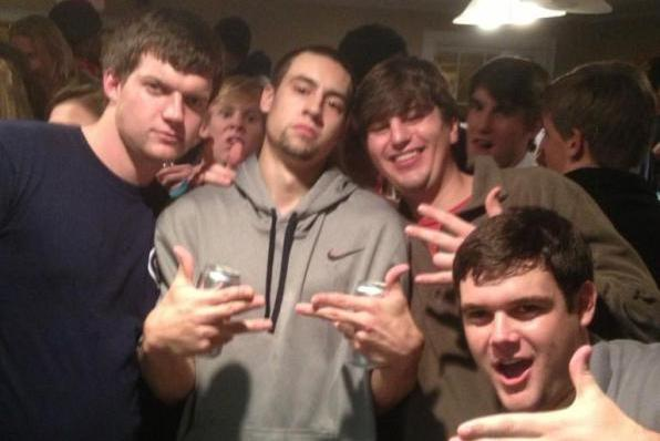 Marshall Henderson Pounds Coors Lights After Beating Auburn [PHOTOS]