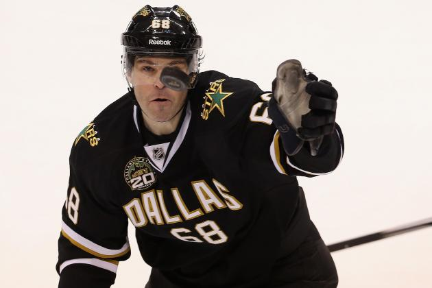 Stars Still Waiting on Benn Immigration Paperwork, Jagr In, Roy out