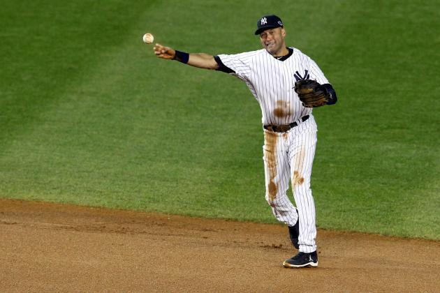 Jeter Goes Through Infield Drills, Batting Practice