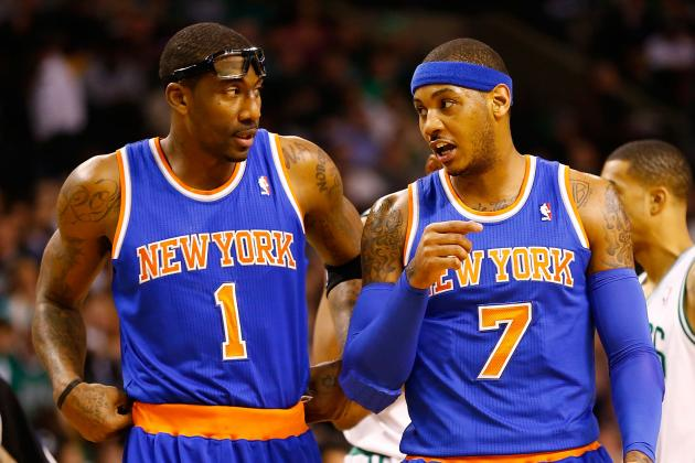 Stoudemire Progressing Well for Knicks