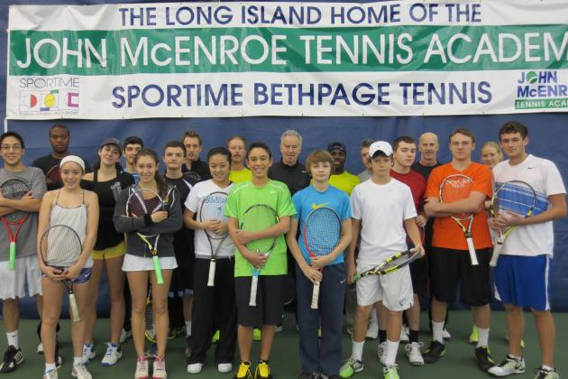 John McEnroe Tennis Academy: An Afternoon with the Tennis Legend