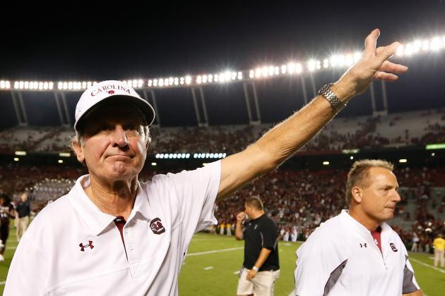 Spurrier Enjoying New Hire Adams