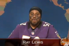 'SNL' Roasts Ray Lewis