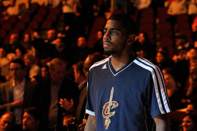 Kyrie Irving Named Eastern Conference Player of the Week