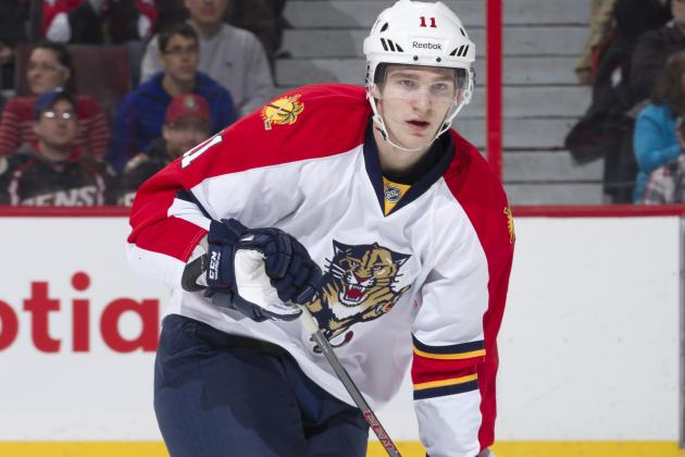 Huberdeau to Stick with Florida for Season