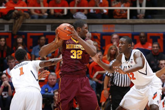 Gophers Basketball: Trevor Mbakwe's Right Wrist Sore but Not 'Damaged'