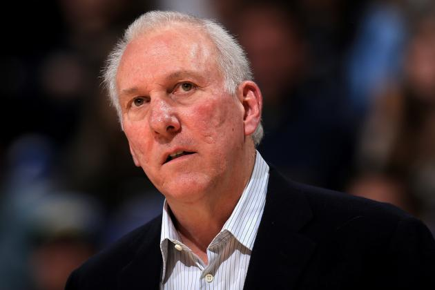 Popovich Likely to Coach West at All-Star Game