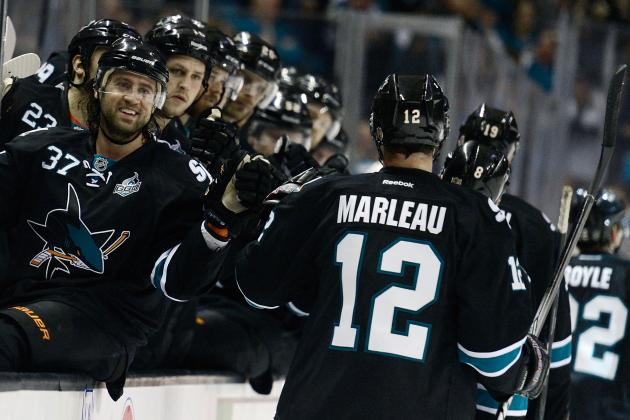 Marleau's Hot Touch Is Shutting Up the Critics