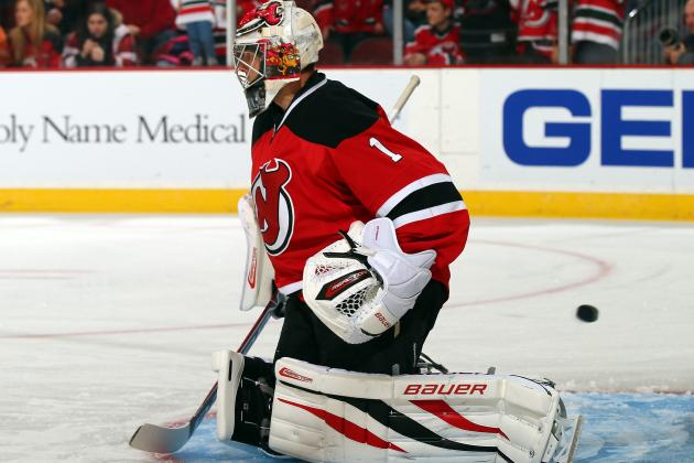 Hedberg to Get First Start of the Season Tuesday in Boston