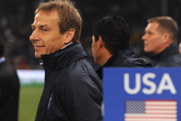 USMNT: Jurgen Klinsmann Tells Players to Make Their Case in Canada Friendly