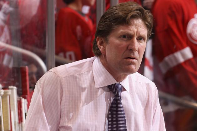Mike Babcock Tries to Solve Red Wings' Sputtering Power Play