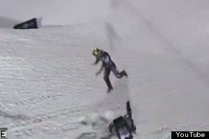 Runaway Snowmobile Injures 1 Fan at Winter X Games