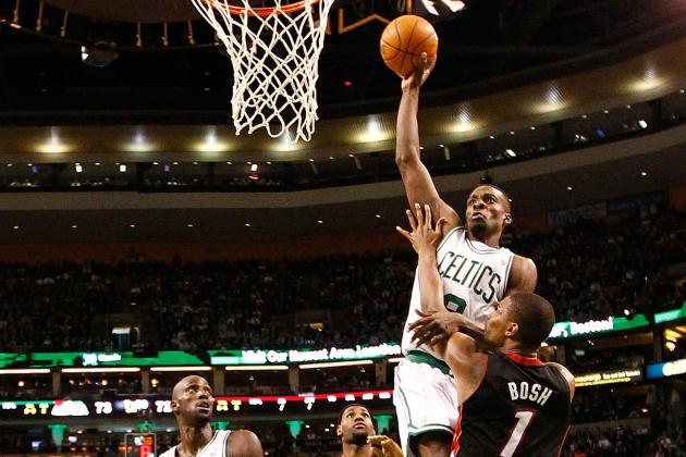 LOOK: Chris Bosh Posterized by Jeff Green