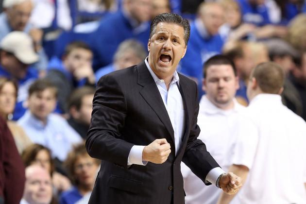 "Calipari: ""I'd Like Us to Lose Our Composure."""