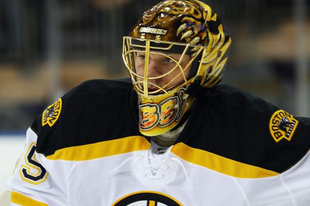 NHL.com: Khudobin to Start for Bruins vs. Hurricanes