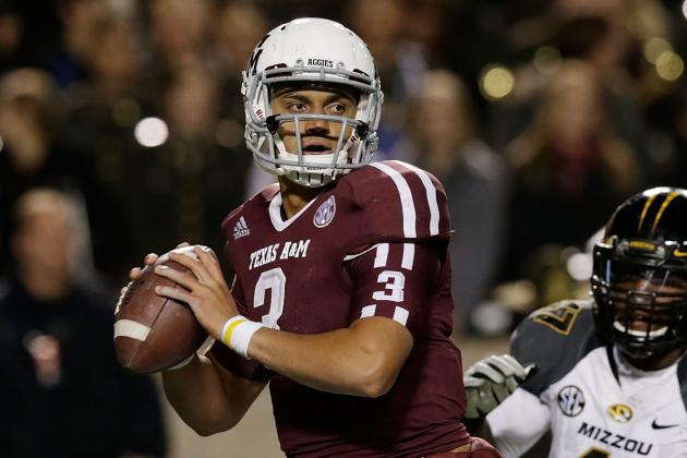 Report: Texas A&M QB Jameill Showers Will Transfer Schools