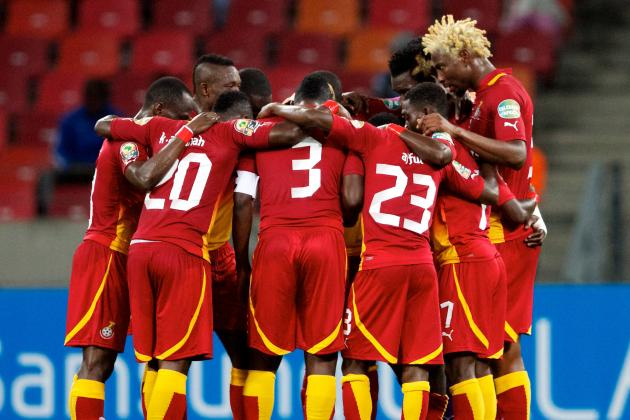 Imperious Ghana Brush @#$% Aside: Soccer Cup Competitions