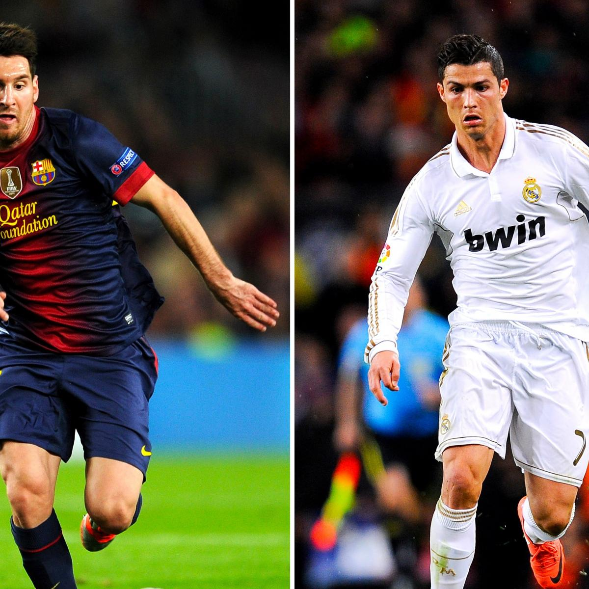 Cristiano Ronaldo I M Not Playing Just Lionel Messi: Lionel Messi Vs. Cristiano Ronaldo: Comparing Their 2013