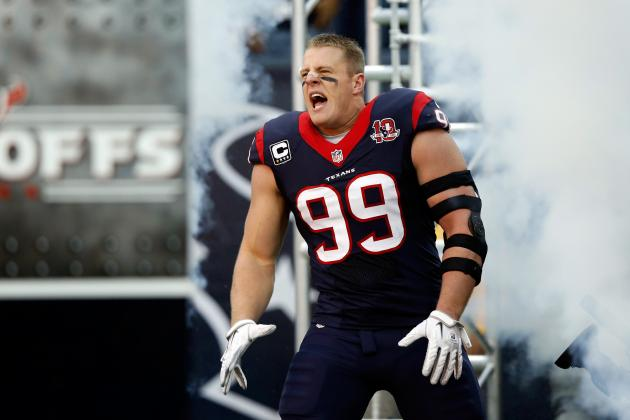 JJ Watt Named 2012 AP Defensive Player of the Year