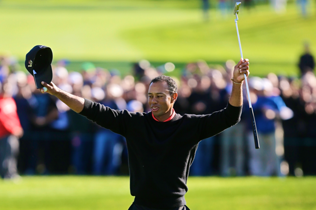 Tiger Woods Wins 75th Career PGA Tournament at Farmers Insurance Open