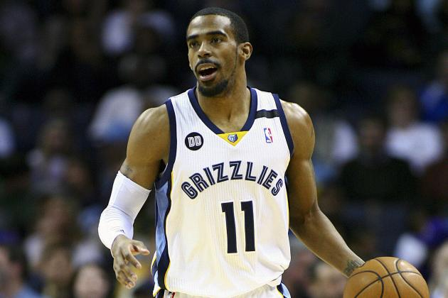 Injured Point Guard Mike Conley Won't Play Against Philadelphia