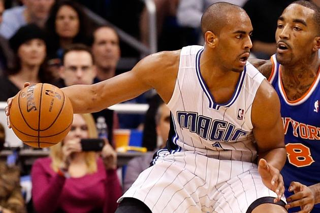 Arron Afflalo Won't Play Against the Brooklyn Nets Because of a Strained Calf