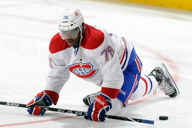 Canadiens Sign Defenseman P.K. Subban to a Two-Year Contract