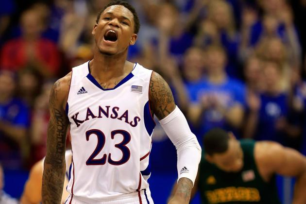 No. 2 Kansas Beats West Virginia 61-56