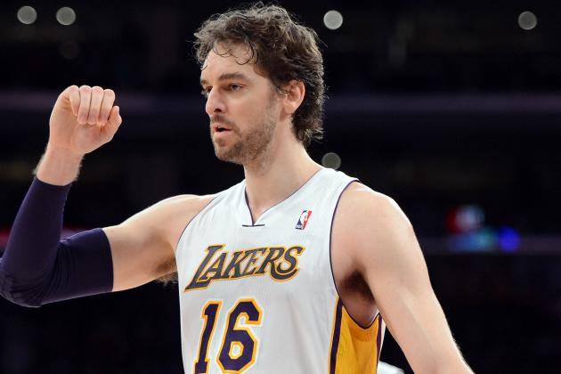 Pau Gasol Says He Won't Request Trade, Will Accept Bench Role for Now
