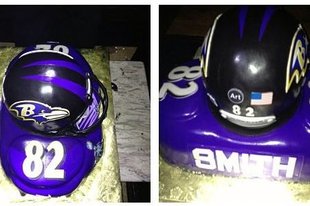 Torrey Smith's Awesome Birthday Cake