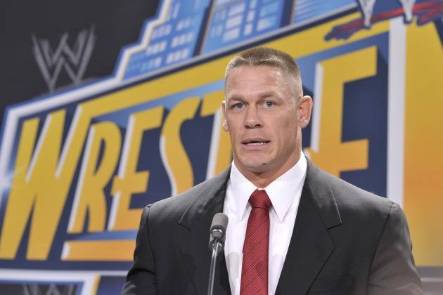 John Cena Announces He'll Challenge the WWE Champion at WrestleMania 29