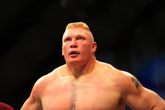 Brock Lesnar Makes His Dramatic Return to WWE on Monday Night Raw
