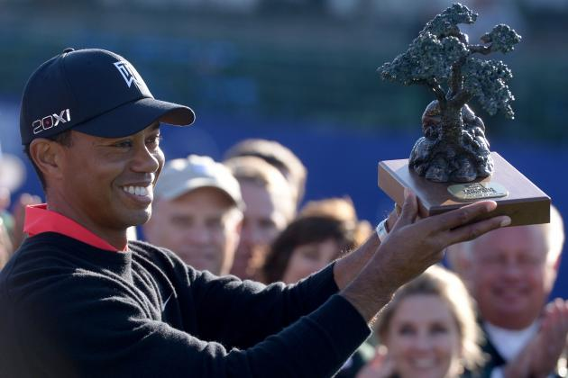 Tiger Woods Gets Win No. 75 at Torrey Pines Playing Ugly Golf