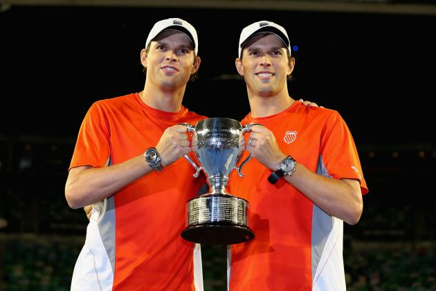 Bob Bryan and Mike Bryan: Duo Among Most Dominant Athletes in All of Sports