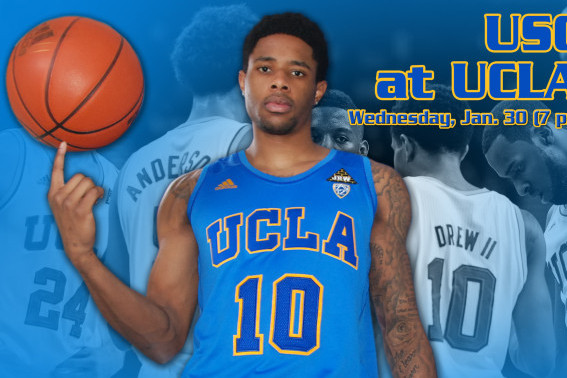 UCLA to Debut All-Blue Unis Wednesday vs. USC