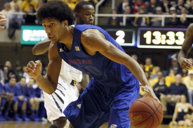 Kansas Wastes Big Lead but Beats West Virginia