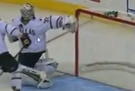 Video: Kari Lehtonen Makes Miracle Save