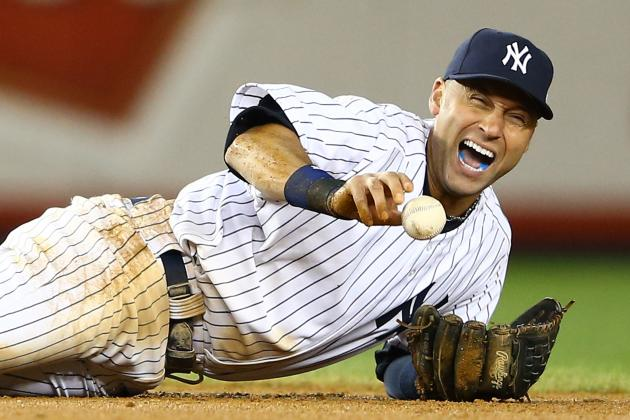 Derek Jeter Back on the Field for the New York Yankees