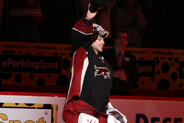 Johnson Nets 1st NHL Shutout in Coyotes Debut