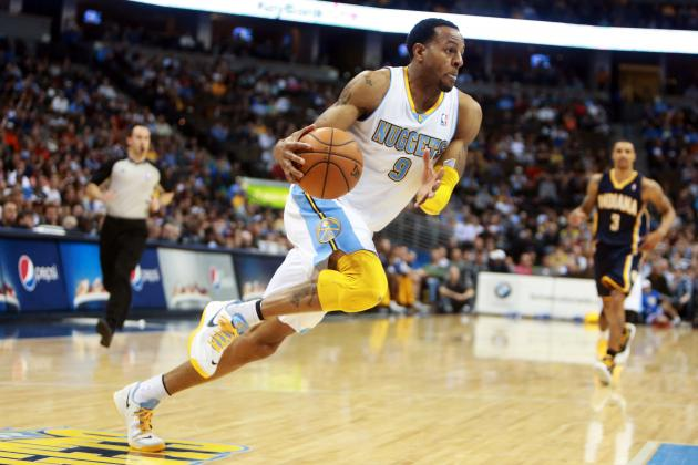 Denver Nuggets Beat Indiana Pacers 102-101 on Andre Iguodala's Free Throw