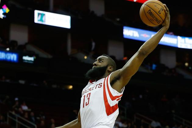 Video: See James Harden's Violent Dunk Against the Jazz