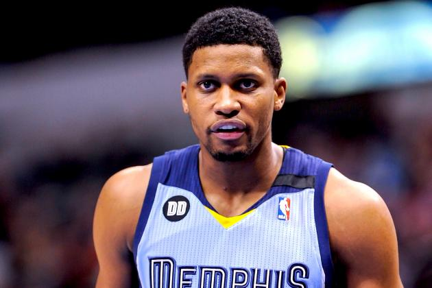 NBA Trade Rumors: Raptors Reportedly Interested in Trade for Grizzlies' Rudy Gay