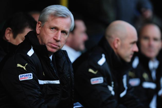 Is Alan Pardew's Time Running Out at Newcastle United?