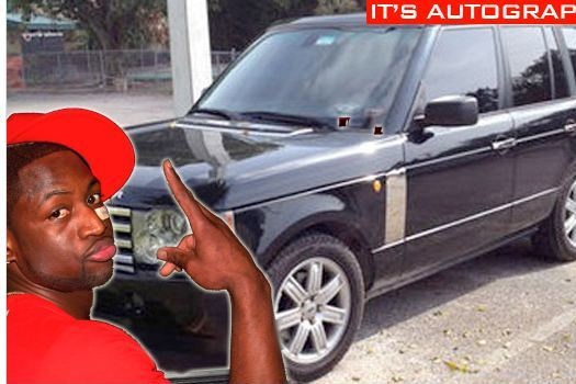 Buy Dwyane Wade's Autographed 2005 Range Rover for $25,000 [PHOTOS]