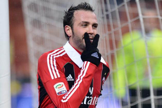 Scouting Giampaolo Pazzini: Milan Striker in Red-Hot Form This Season